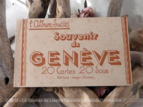20 vues de geneve des années 30