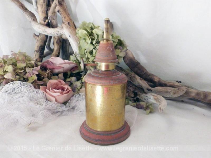 Lampe essence m che en laiton - Meche pour lampe a petrole ...