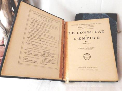 le consulat et l'empire en 2 tomes