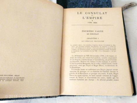 le consulat et l'empire en 2 tomes de E. Madelin
