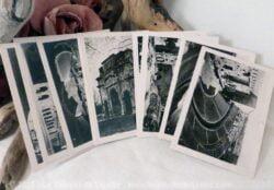 anciennes photos d'Orange noir et blanc