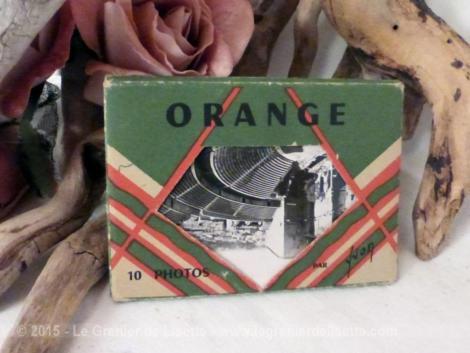 anciennes photos d'Orange