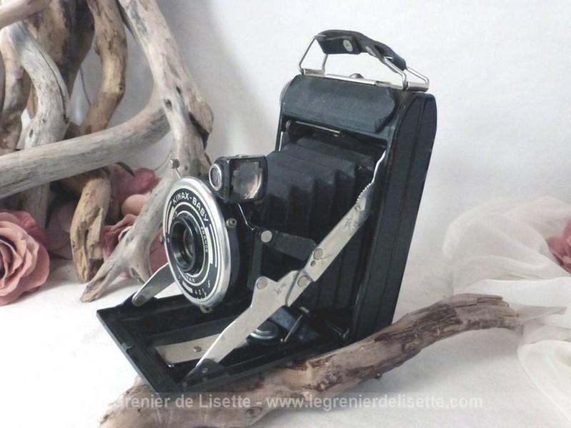 ancien appareil photo kinax baby le grenier de lisette. Black Bedroom Furniture Sets. Home Design Ideas