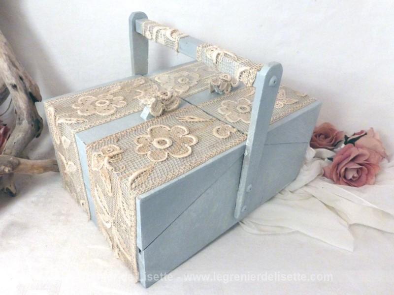 Boite couture et dentelle le grenier de lisette for Boite a couture fille