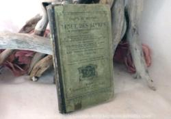 livre pour la tenue des livres comptables en 1864