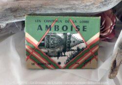 Mini album de photos anciennes du Château Amboise.