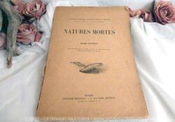 Ancien livre de cours Nature Morte
