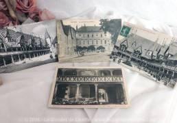 Trois cartes postales anciennes de la ville de BEAUNE.