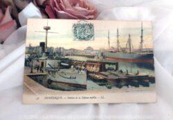 Carte postale ancienne de la ville de Dunkerque.
