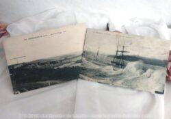 Deux cartes postales anciennes de la ville de Portrieux