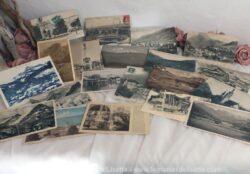 Lot de 20 cartes postales anciennes Savoyardes