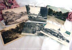 Lot de cartes postales anciennes de la ville de Vichy