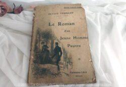 """Livret """"Le Roman d'un Jeune Homme Pauvre"""" d'Octave Feuillet de l'Académie Française."""