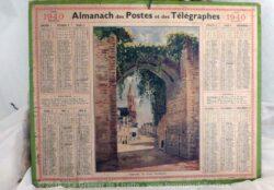 Almanach des Poste et Télégraphes année 1940, avec feuillets complémentaires.