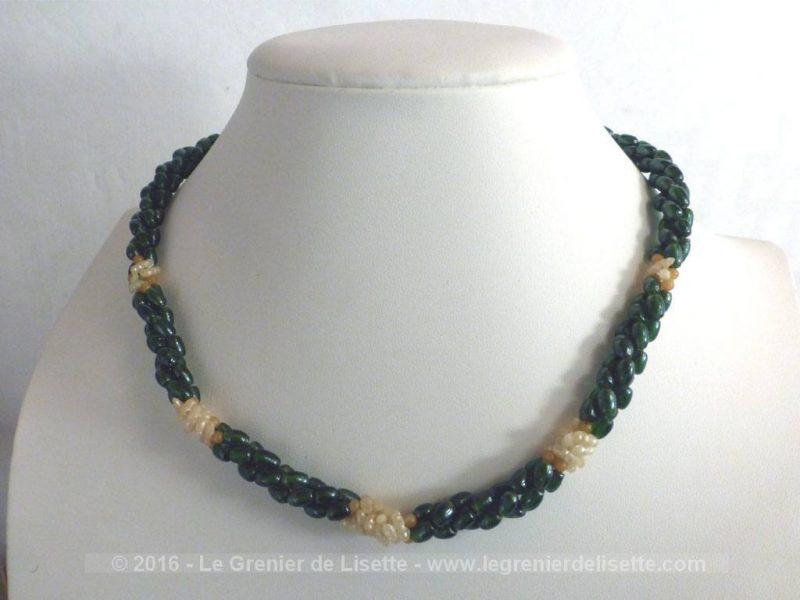 collier perle grain de riz