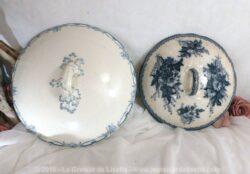 Duos de couvercles de soupière ou de saladier, magnifiques qui méritent d'être utilisés comme un objet de décoration !