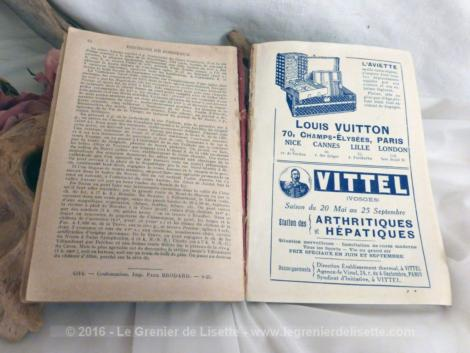 Guide Diamant Bordeaux de 1926. C'etait le guide de publicités pour la ville de Bordeaux et ses environs en 1926.