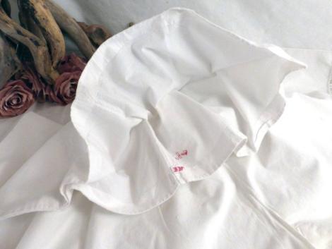 Ancienne culotte courte,non fendue, avec bordure en dentelle .