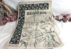 Journal La Broderie Lyonnaise de Novembre 1911