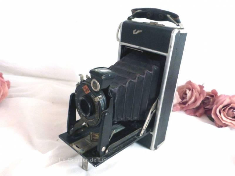 vendu ancien appareil photo soufflets agfa le grenier de lisette. Black Bedroom Furniture Sets. Home Design Ideas