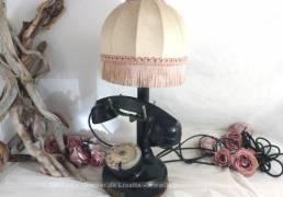 Ancien téléphone lampe de 1924
