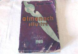 """Almanach Illustré """"Le Petit Parisien"""" datant de 1928."""