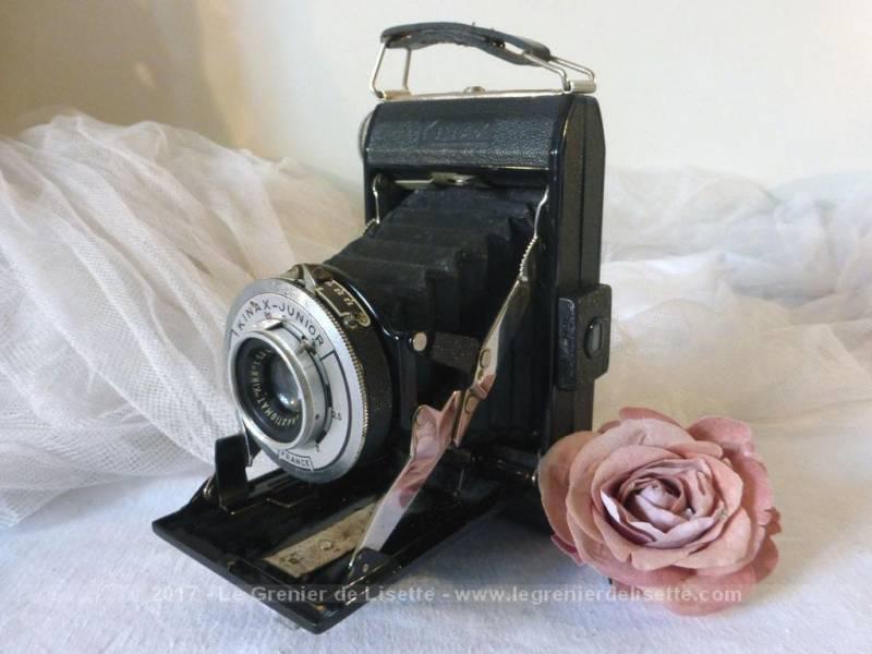 vendu ancien appareil photo soufflet kinax le grenier de lisette. Black Bedroom Furniture Sets. Home Design Ideas