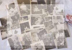 Lot de 29 photos anciennes bébés et enfants - libres de droit