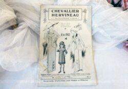 """Ancien catalogue de Confection pour femme de la Maison """"Chevallier Hervineau"""" pour l'été 1912."""