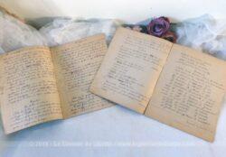 Duo de cahiers scolaires 1939 et 1941