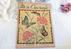 """Voici le n°12 de l'ancienne revue mensuelle """"Mon Ouvrage"""" de Septembre 1949."""