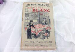 Catalogue Au Bon Marché de 1909