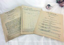 Voici des cours Ecole Universelle par correspondance datés de 1934. Cours de musique et d'hygiène, programme de 3eme année des Ecoles Normales.