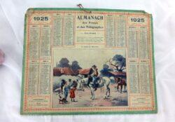 Almanach des Postes et Télégraphes année 1925 sans feuillet complémentaire.