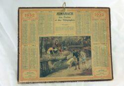 Almanach des Postes et Télégraphes année 1932 avec feuillets complémentaires.