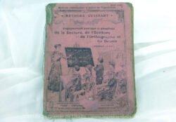 Ancien livret d'enseignement de la lecture sur l'Enseignement Pratique et Simultané de la Lecture, de l'Ecriture programme du 27 juillet 1882.
