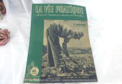Revue La Vie Pratique datée de juin 1949