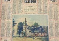 Almanachs et agendas d'antan