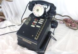 Ancien standard téléphonique en bakélite de la marque Teprina datant des années 50/60. Déco vintage assurée.