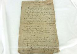 Copie conforme, écrite à la plume d'un ancien décret daté du 20 mars 1885 publié au Journal Officiel et inséré au Bulletin des Lois, dont l'original a été signé par le Président de la République Jules Grevy.