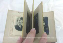 Voici un ancien petit album, façon livre avec 20 photos anciennes .