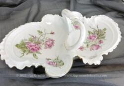 """Ancien mendiant """"serviteur"""" shabby en porcelaine porcelaine allemande estampillée K.P.F. du début du XX°."""