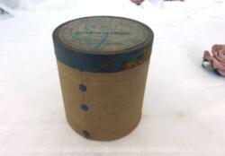 """Pour phonographe, voici une ancienne boite vide à cylindre Pathé n°6053 portant l'étiquette """"Retraite de Crimée"""" par Magnier et exécuté par l'orchestre Pathé Frères."""