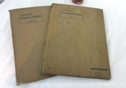 Voici un duo de livres de cours sur la Technologie d'Ajustage de R. Caillault, édités à la Librairie Delagrave en 1938.